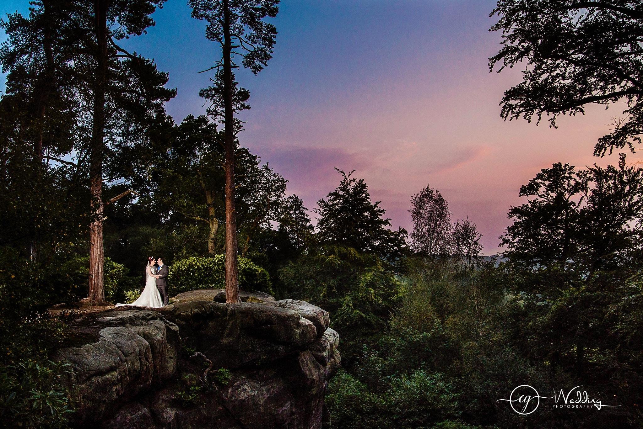 Wedding Photography at High Rocks Kent