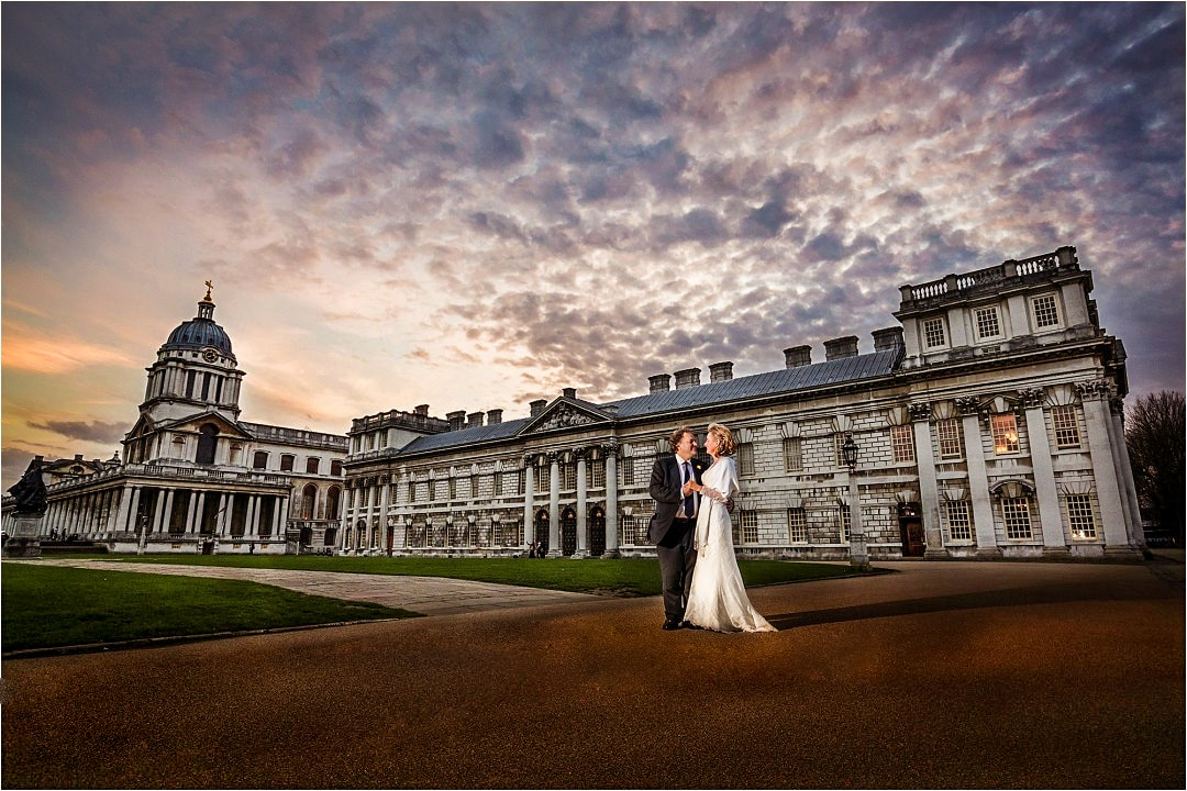 Old Royal Naval College - Admiral`s House Wedding Photography 1