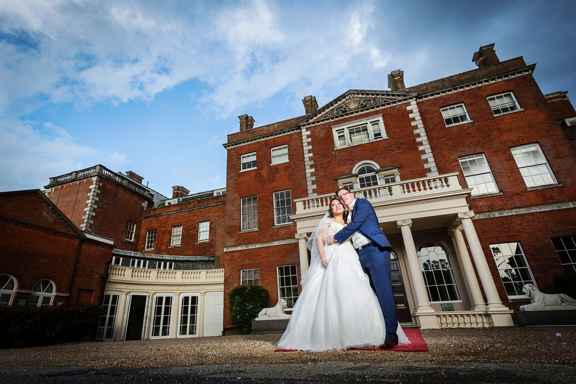 wedding photography at theobalds estate
