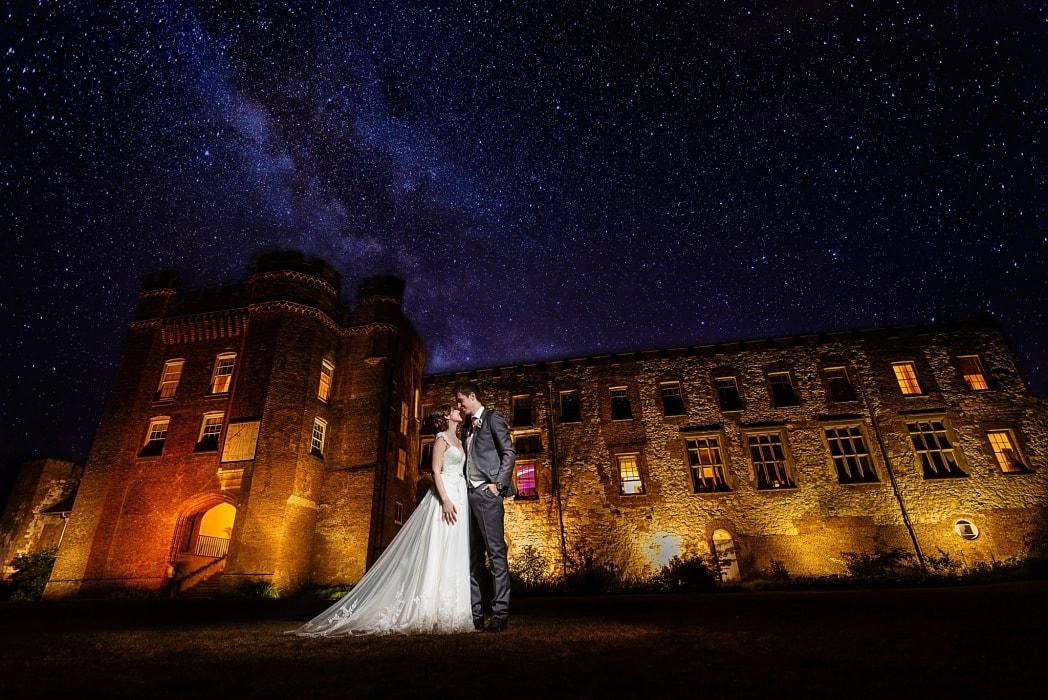 Amazing wedding photo at Farnham Castle