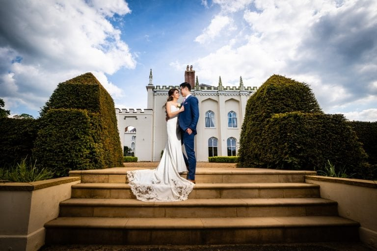 Sarah and David - A Combermere Abbey Wedding 1