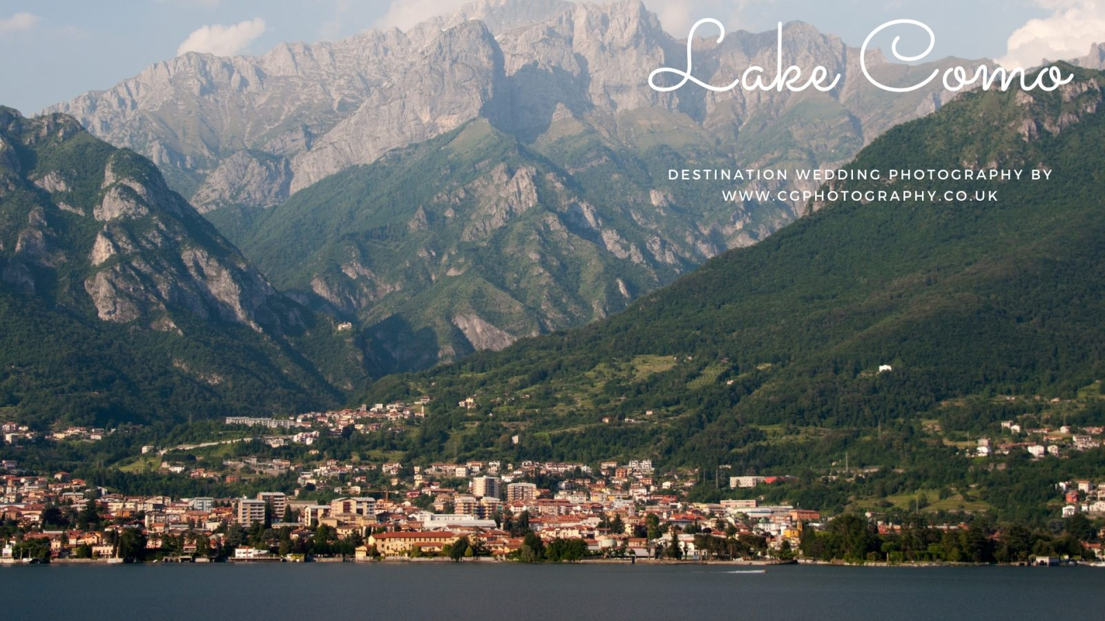 Photographer Lake Como Wedding Abroad