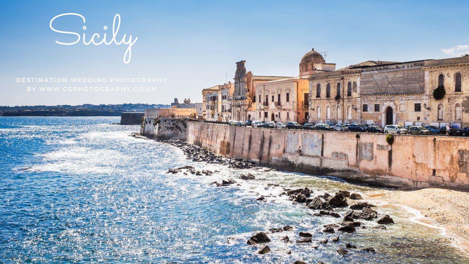Beach Wedding in Sicily