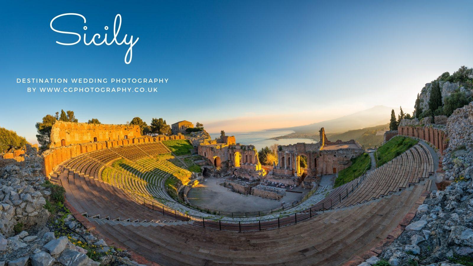 Roman Sicily Wedding Photographer